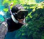 Snorkeling nella faglia di Silfra