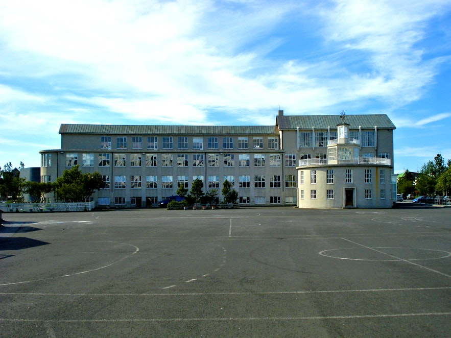 If many of Reykjavik's public schools have a canonical appearance, it's because many of them were designed by the same handful of architects such as Einar.