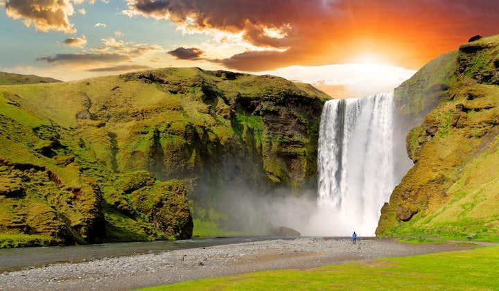 Skogafoss waterfall, south Iceland