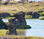 Lake Myvatn, north Iceland