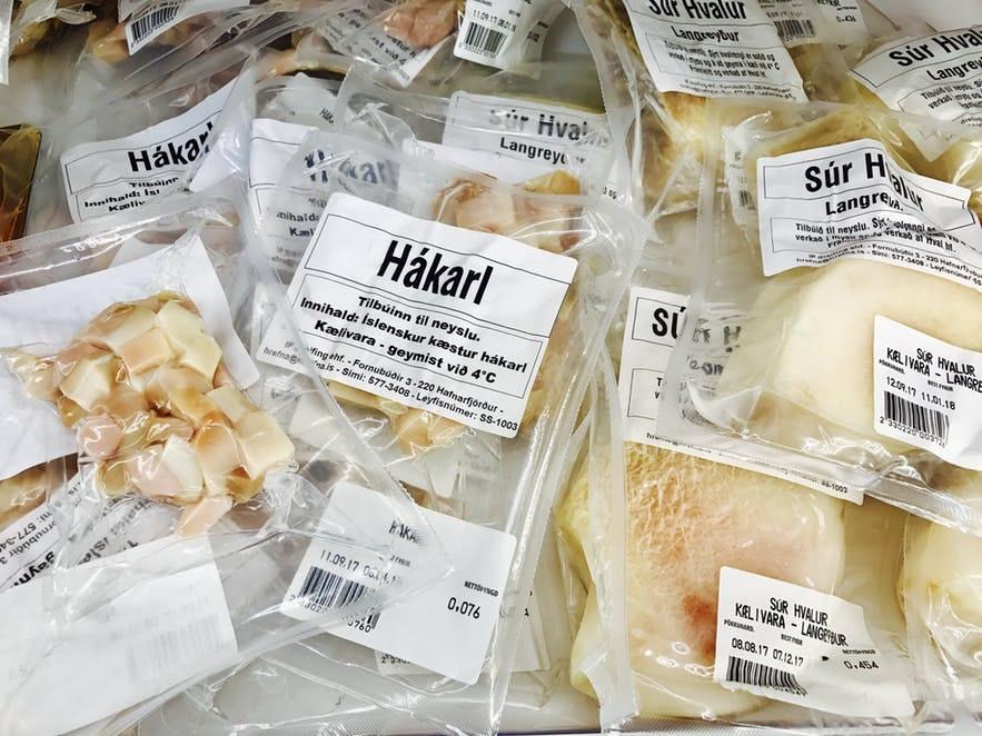 冰島臭鯊魚