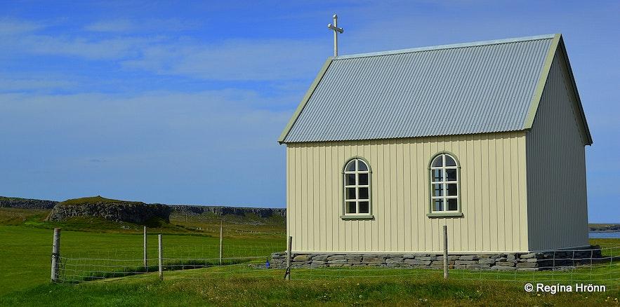 Ketukirkja church at Skagi North-Iceland