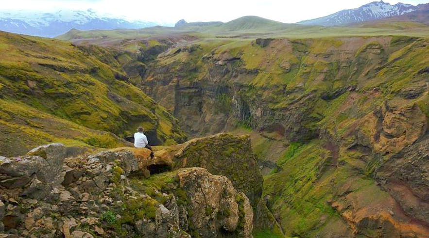 Markarfljótsgljúfur Canyon is one of the country's hidden gems, nestled away in the Icelandic Highlands.
