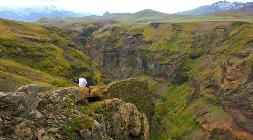 Markarfljótsgljúfur Canyon is one of the country's hidden gems, nestled away in the Icelandic Highlands.