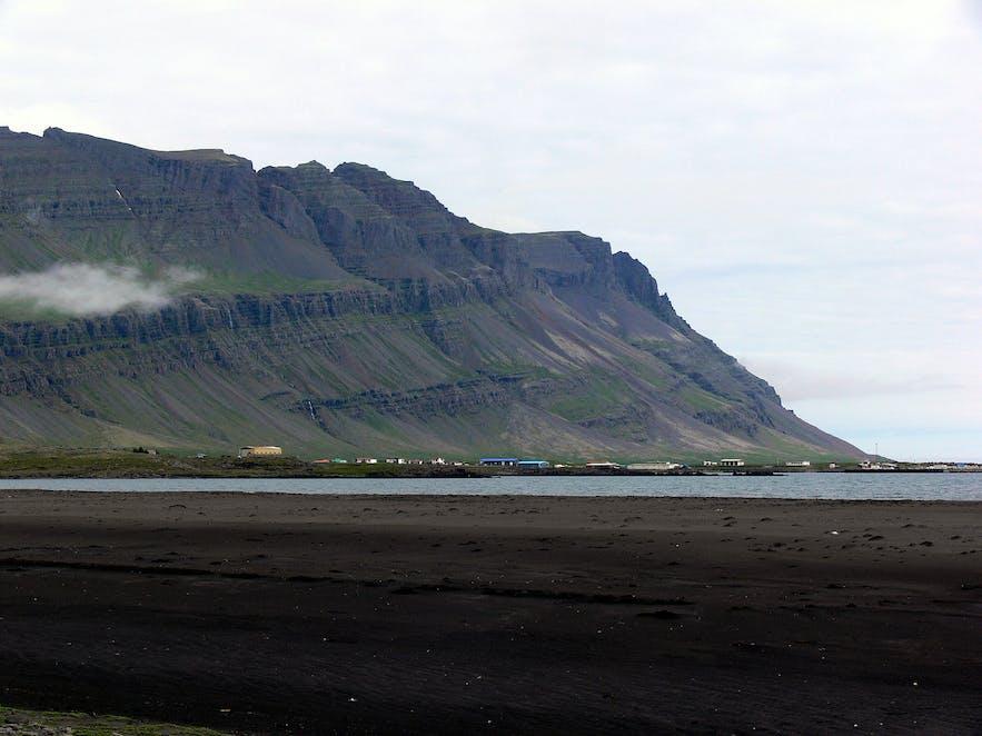 Breðdalsvík in east Iceland