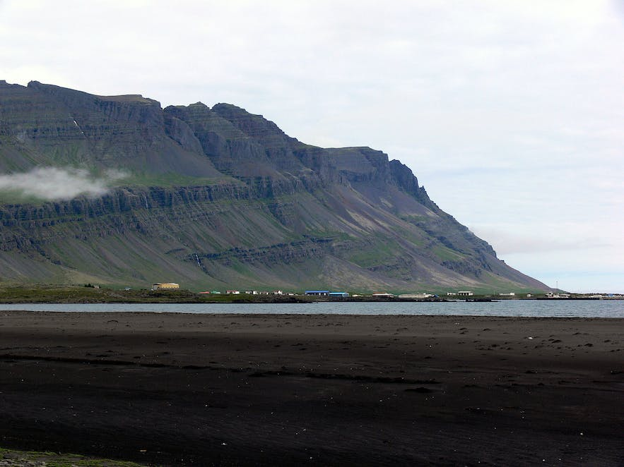 Breðdalsvík in east Iceland