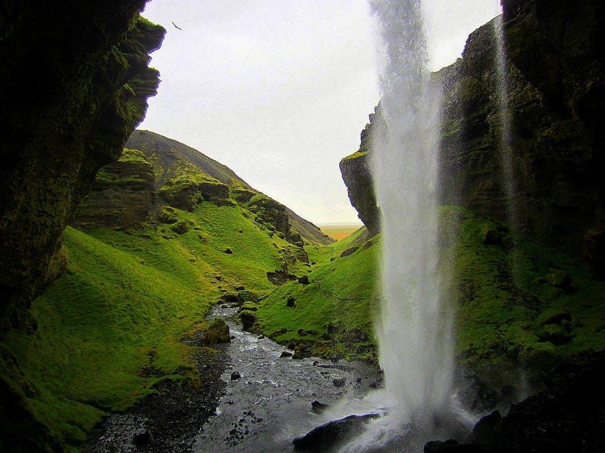 Kvernufoss is a true hidden gem in South Iceland.