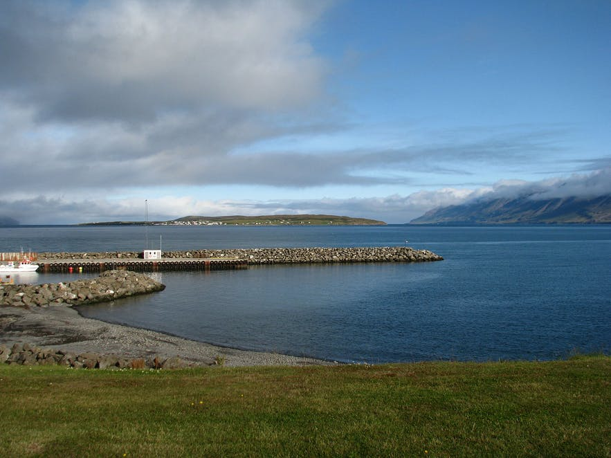 Árskógssandur is tiny, but has a lot to entertain visitors with.