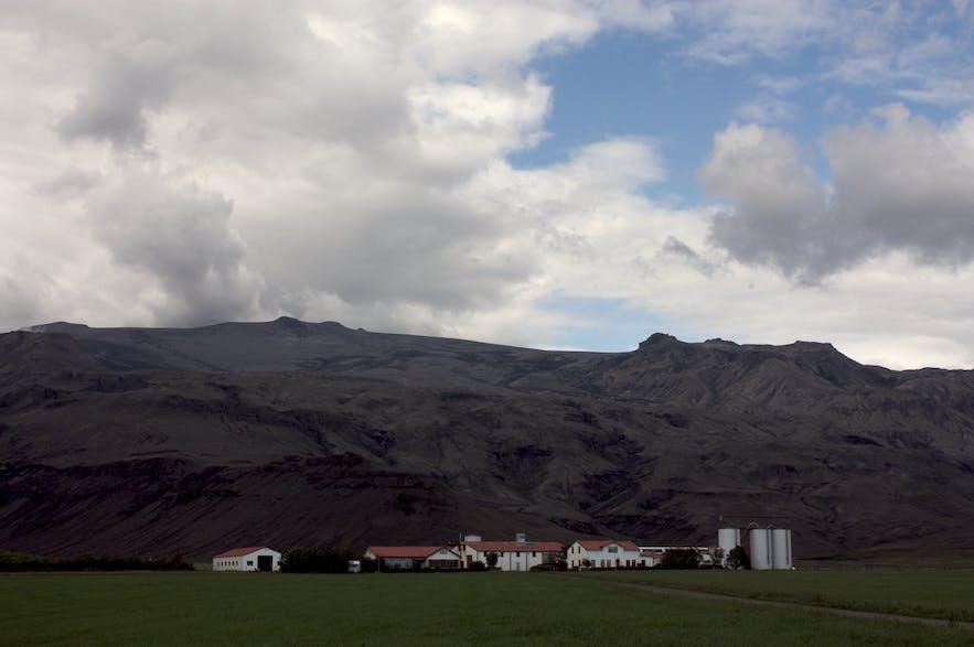 Þorvaldseyri, near Eyjafjallajökull