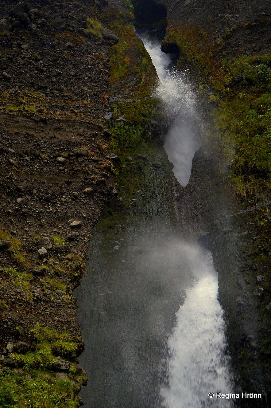 Gluggafoss Waterfall in South-Iceland - have you ever seen a Waterfall with Windows?