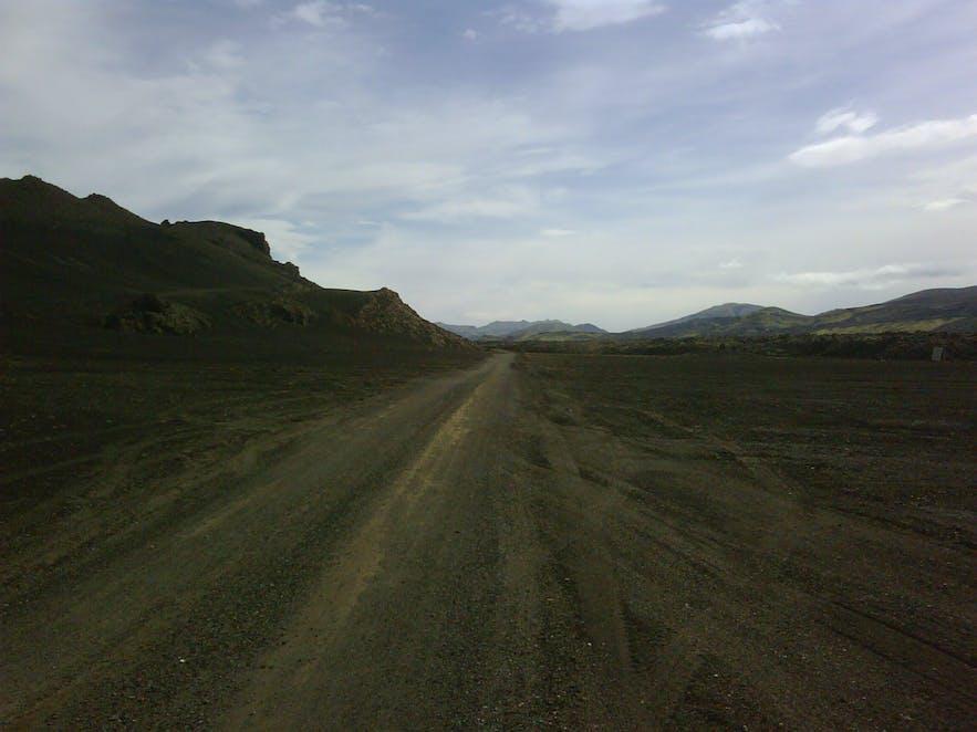 Landmannaleið is a highland road