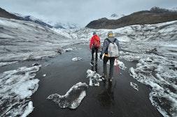 斯卡夫塔山冰川