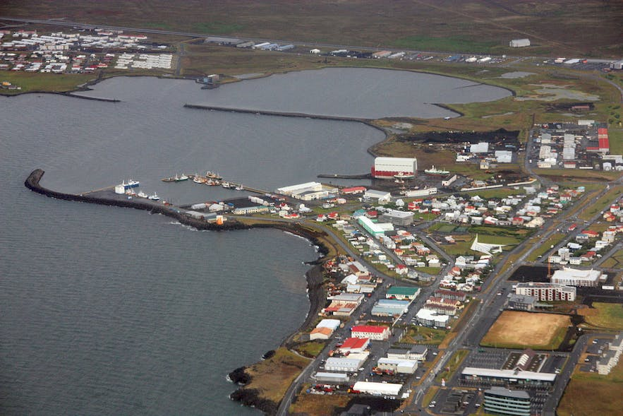 Njarðvík is one of the three largest towns that make up the Reykjanesbær municipality on the Reykjanes Peninsula.