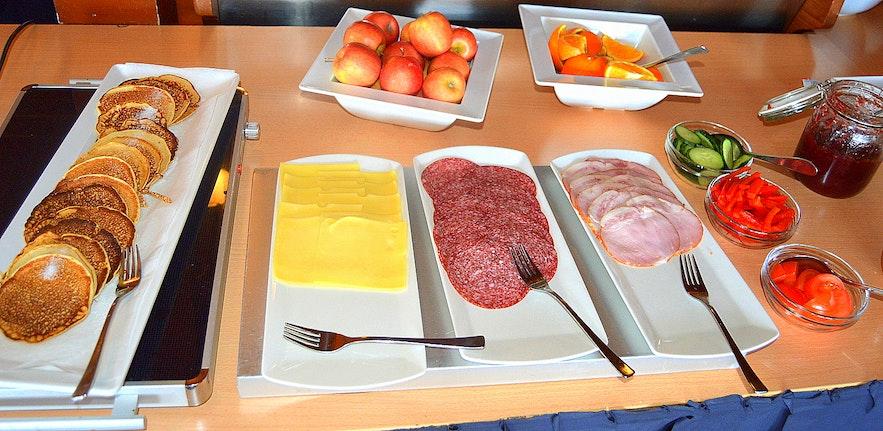 Breakfast at Hotel Eyjafjallajökull