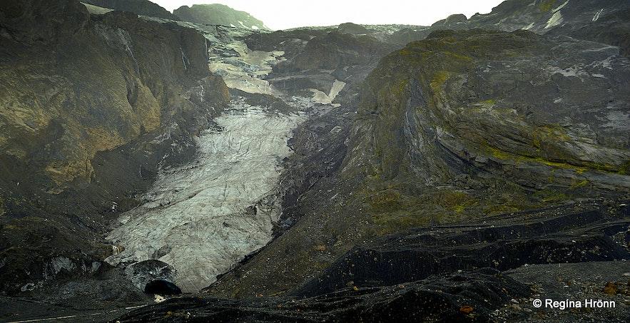 Gígjökull glacier