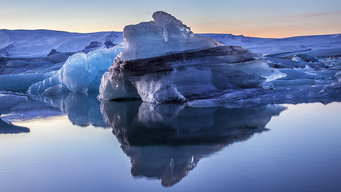 South Coast Adventure | 2 Day Tour to Jokulsarlon Glacier Lagoon with Glacier Hike & Winter Ice Cave