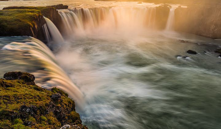 The stunning and powerful Goðafoss in North Iceland.