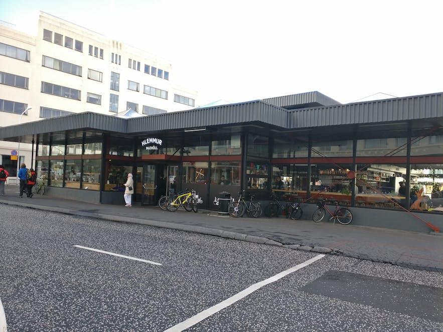 新しくなったバスターミナル、フレンムル
