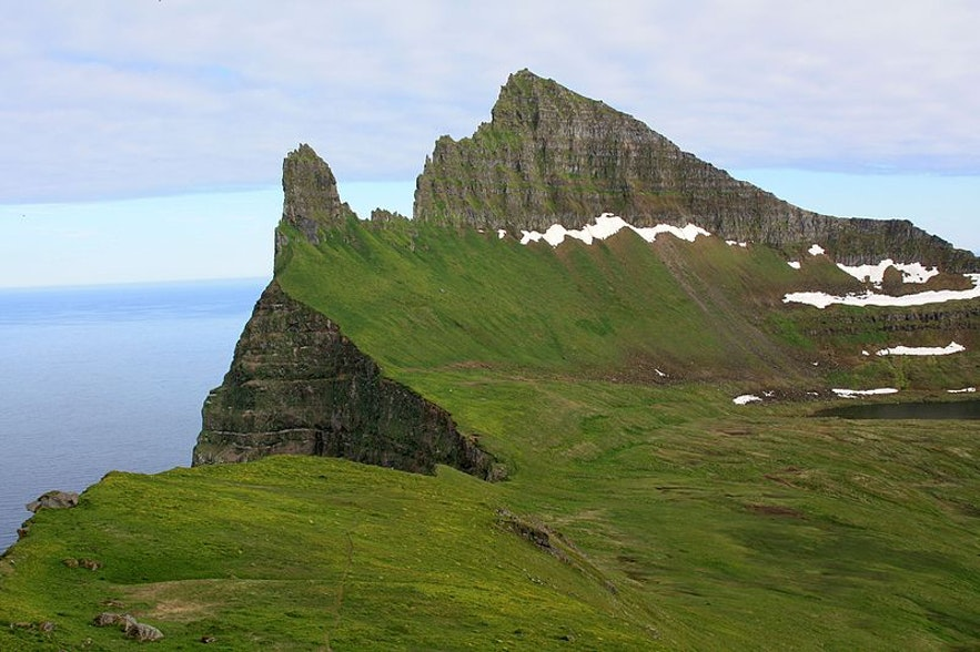 Hornstrandir in den Westfjorden ist wohl die abgelegenste Region Islands.