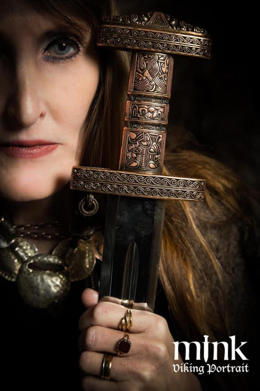 Regina at Mink Viking portrait