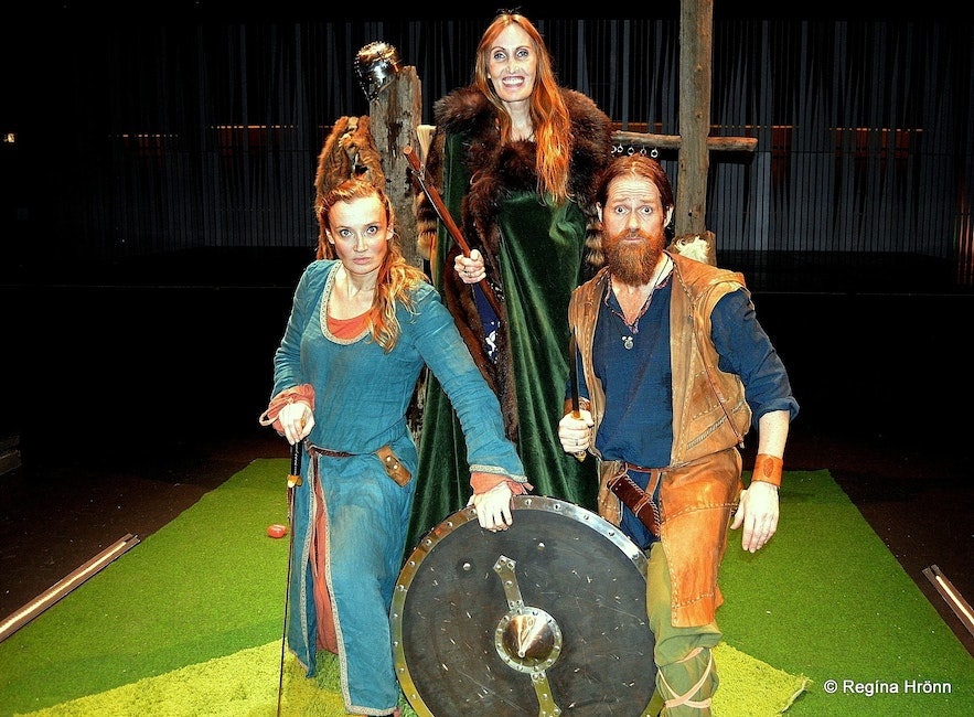 Regína at The Icelandic Sagas - the Greatest Hits in 75 Minutes