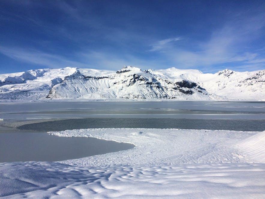 Abschlussansicht auf der Eishöhlen-Tour