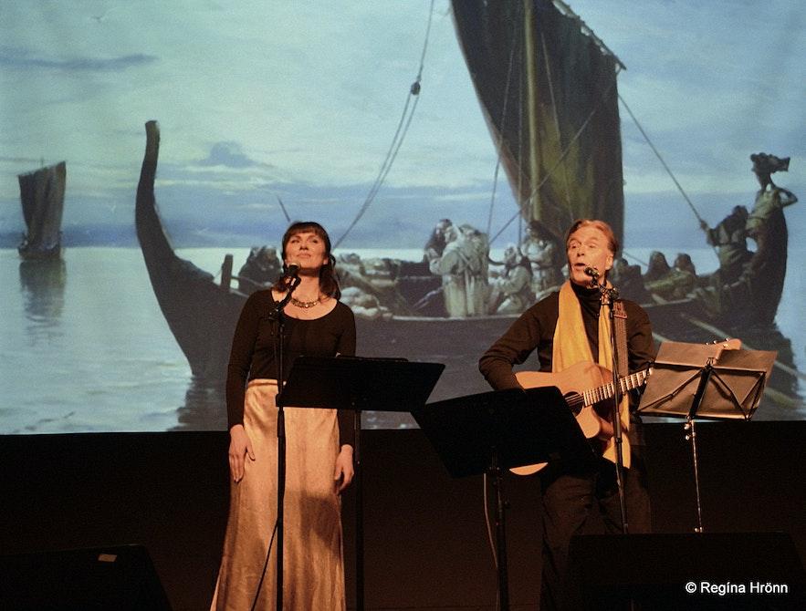 Saga Musica - the Icelandic Viking Sagas portrayed in Songs