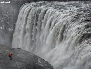 アークレイリ発|冬のゴーザフォス、デティフォスの滝ツアー