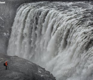 Dettifoss Waterfall | Winter Adventure from Akureyri