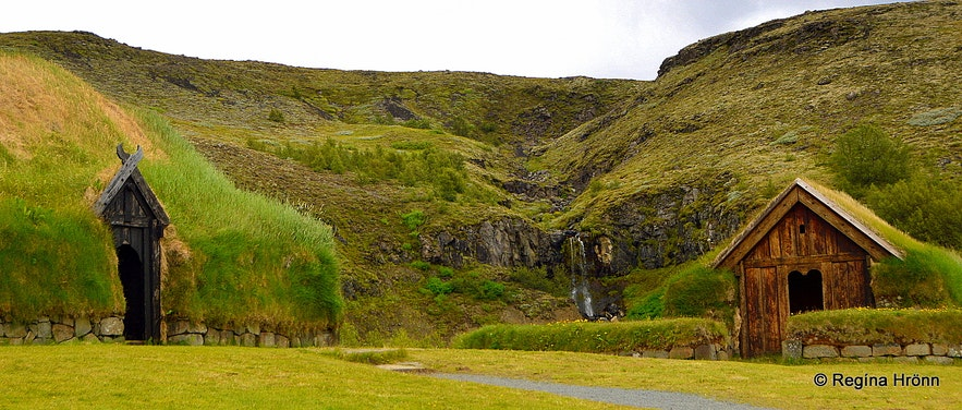 The reconstructed Saga-Age Farm in Þjórsárdalur