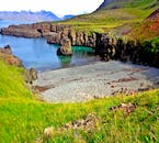 This charming bay is found nestled within the Svalvogar Circle route of the Icelandic Westfjords.