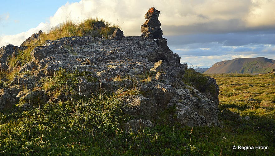 Raufarhöfn - the Arctic Circle Village in NE-Iceland - and the Mystical Arctic Henge