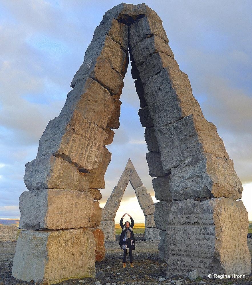 Regína by Heimskautsgerðið- Artic Circle village NE-Iceland