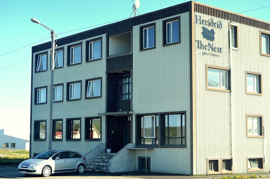 Hreiðrið guesthouse in Raufarhöfn NE-Iceland
