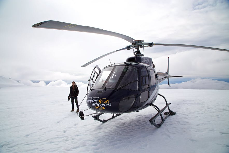 冰島直升機