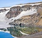 La région autour de l'Askja n'est accessible que quelques mois par an en Islande.
