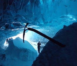 Excursión a la cueva de hielo del glaciar Vatnajokull | Salida desde Jokulsarlon