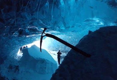 Grotte de glacier au Vatnajokull en famille | Départ de Jokulsarlon