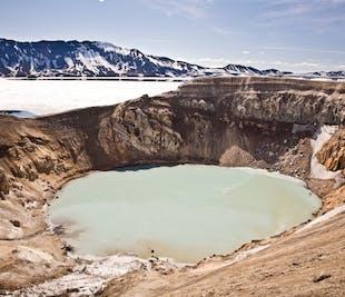 Excursión a la caldera de Askja y la cascada de Godafoss | Desde Akureyri