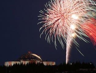 Dîner du Nouvel An à Perlan   Feu de joie et feux d'artifice 2018-2019