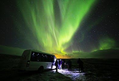 Excursion Aurores boréales de luxe   Sortie en minibus depuis Reykjavik