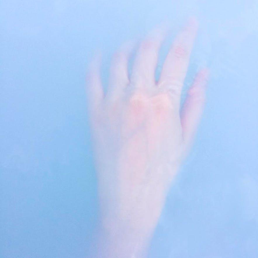 冰島藍湖湖水