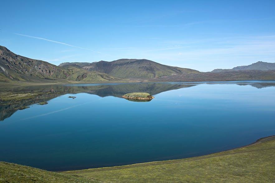 The Frostastaðavatn Highland lake.