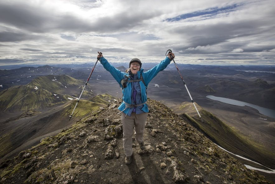 Sveinstindur is considered to be one of Iceland's best viewing spots.
