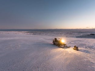 Snowmobile Tour on Vatnajokull Glacier