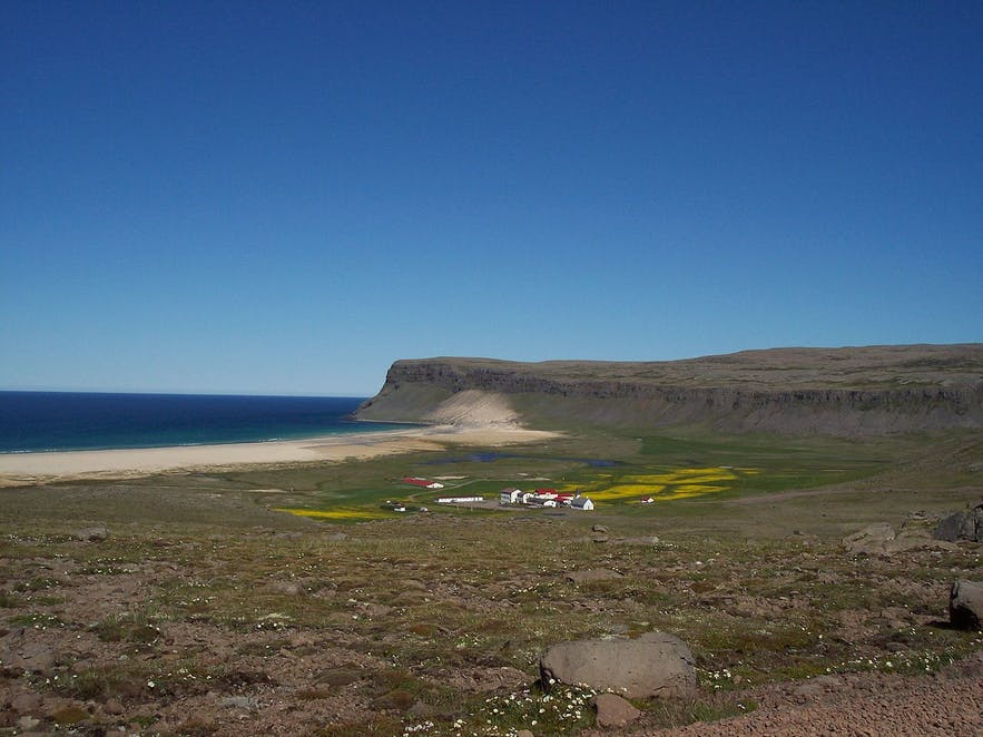 Breiðavík is one of Iceland's most mesmerising beaches.