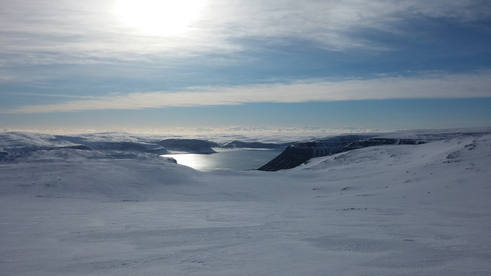Very few get to see the snowy landscapes of the Westfjords in winter.