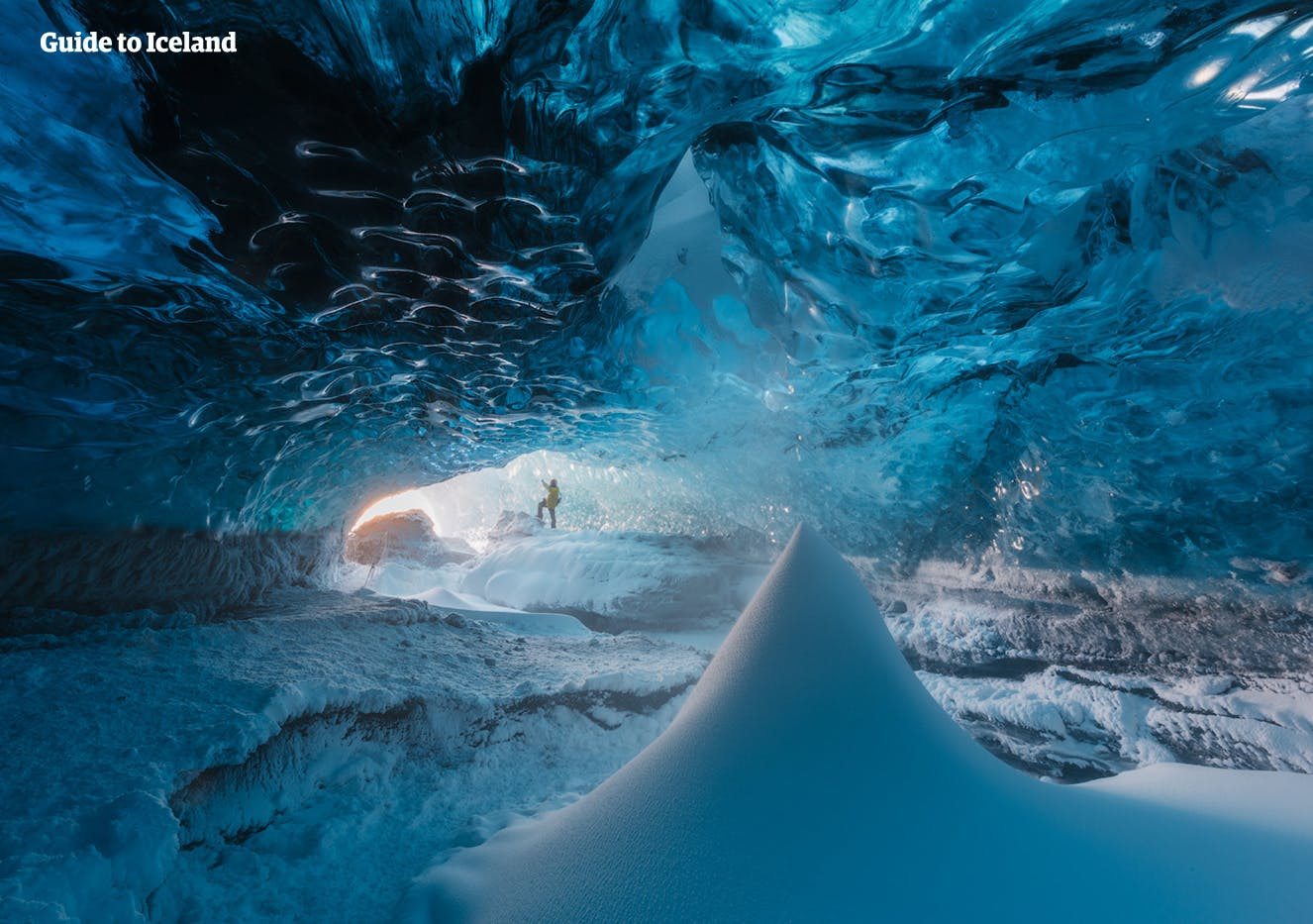 No ice cave in Iceland is exactly alike another.