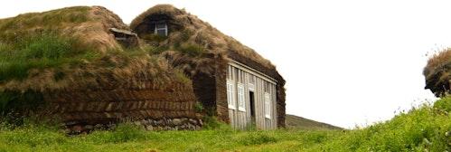 Tyrfingsstaðir草皮屋