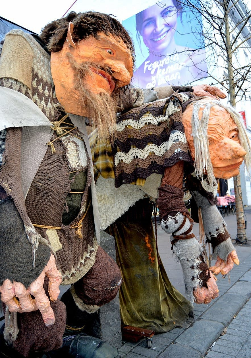 Grýla and Leppalúði - the Parents of the Icelandic Yule Lads